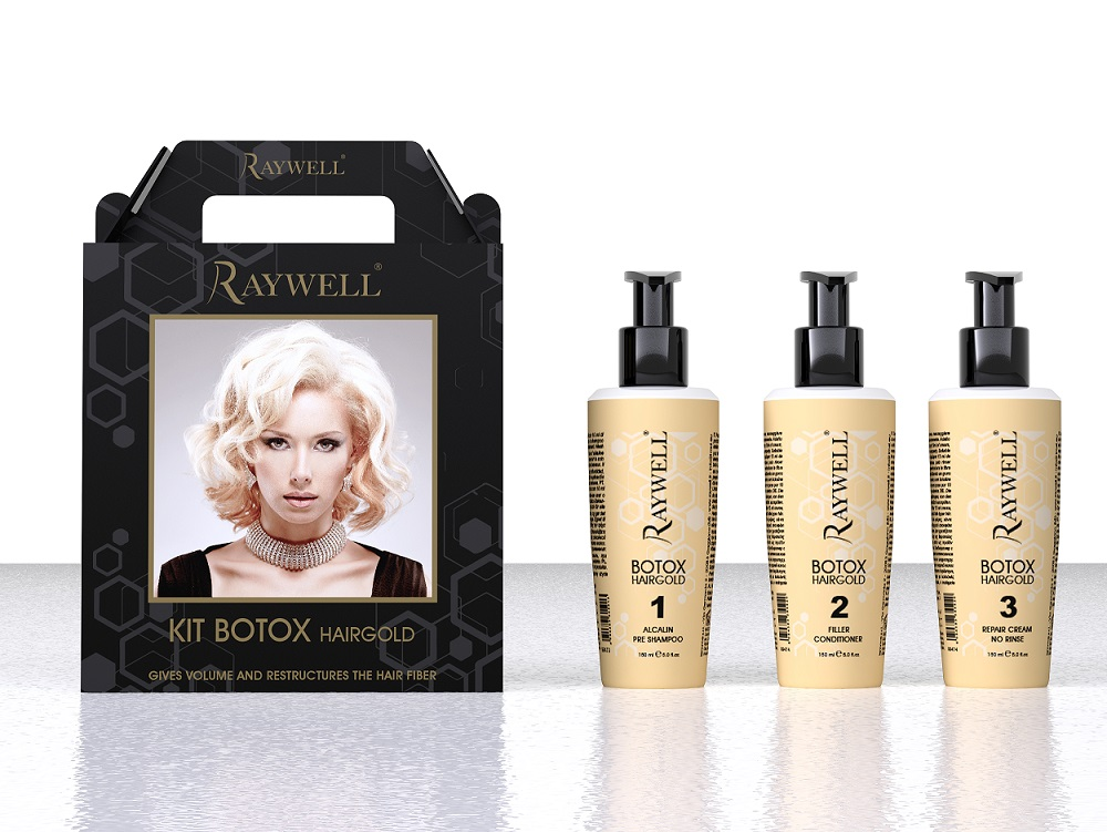 Kit Envie BOTOX 24K Hair Gold