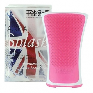 Kartáč TANGLE TEEZER Aqua Splash růžový